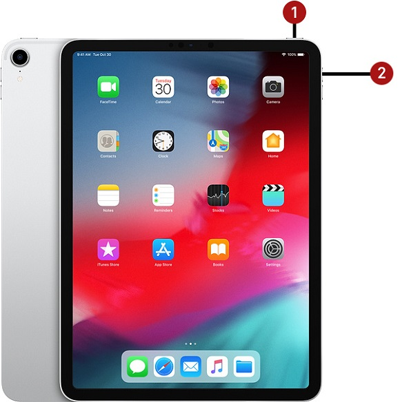 turn off ipad pro