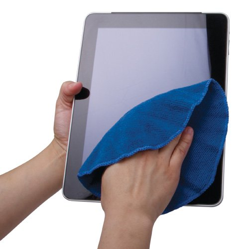 wipe soaked ipad