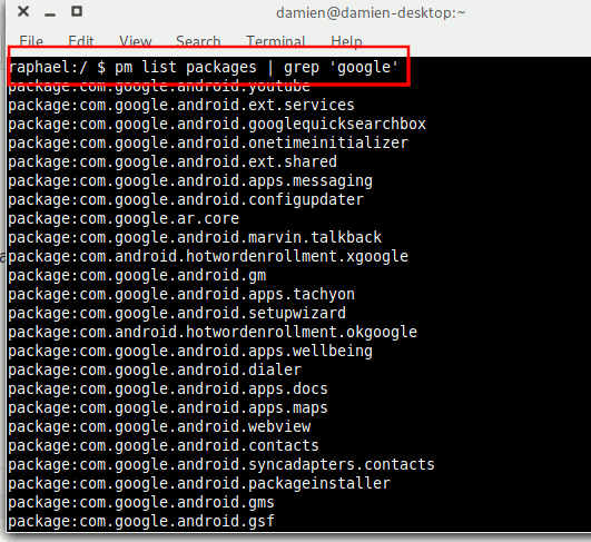 Android Uninstall Bloatware List Google Apps