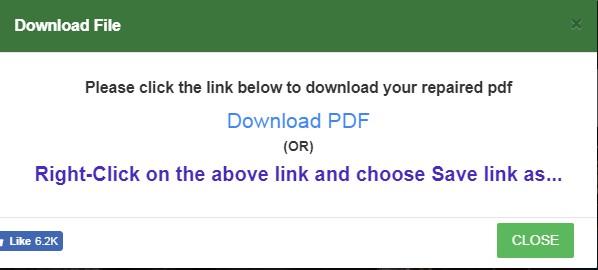 Fix Corrupt PDF
