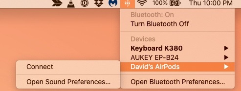 Connect Airpods To Mac Connect
