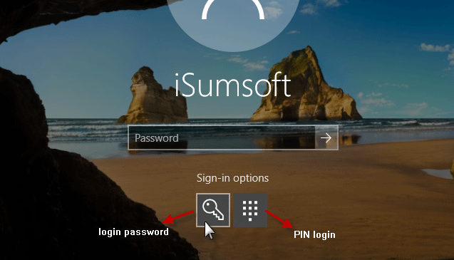 Sign-in with password