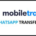 Trasferire Chat Whatsapp tra due Telefoni con Mobiletrans