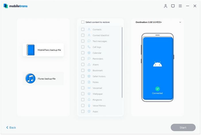 restore from mobiletrans backup to android 01