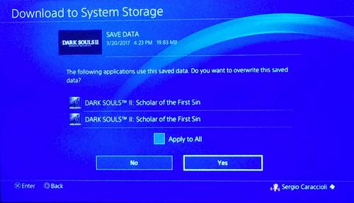 Download to System Storage