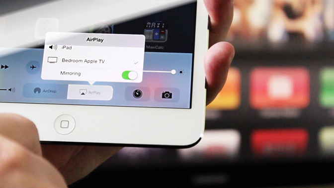 How to Stream from iPad to TV AirPlay