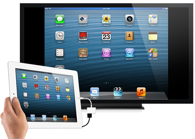 How to Stream from iPad to TV HDMI cable