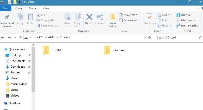 mange S9/S20 photos with windows explorer