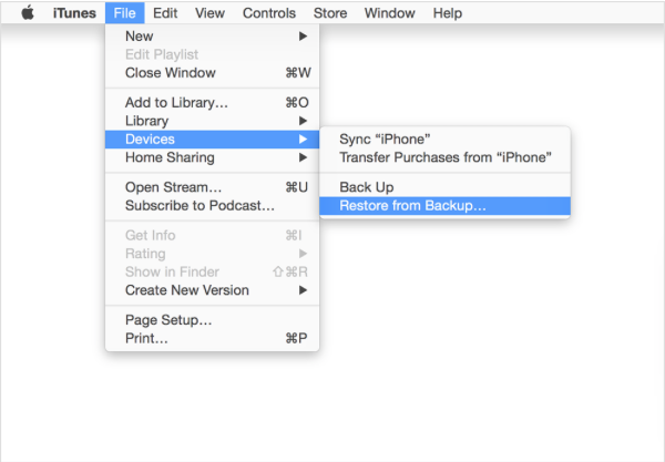 How to Transfer Data from Old iPhone to New iPhone using iTunes