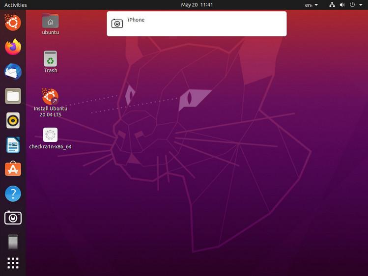 Connect iOS device to Ubuntu