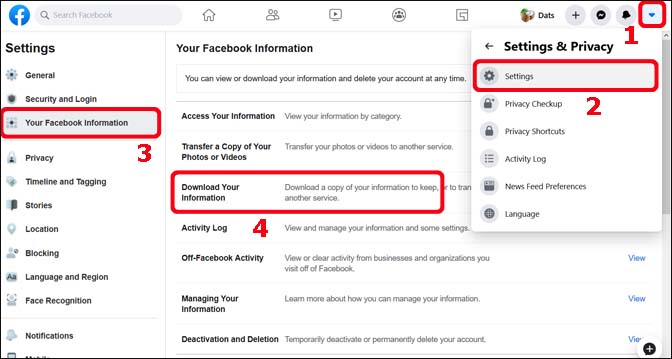 Print All Facebook Messages from iPhone On PC