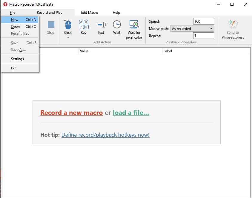 Macro-recorder - automated macro software