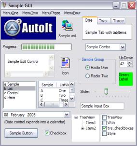 AutoIt GUI