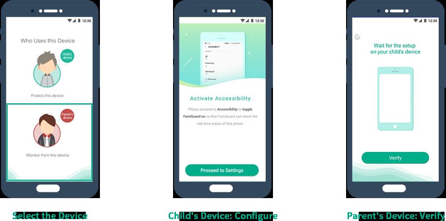 verify parents phone